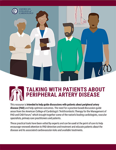 Talking With Patients About Peripheral Artery Disease