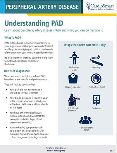 Understanding PAD