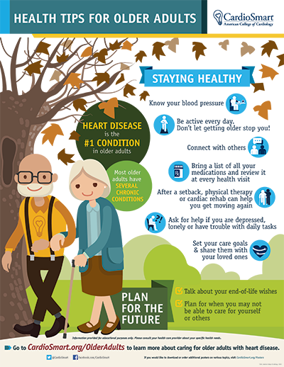 Health Tips for Older Adults